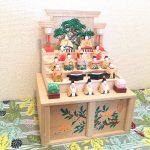 【奈良一刀彫・神泉】コンパクトで省スペースな5段飾りお雛様を購入しました